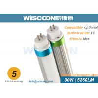Wholesale 30 Wattage Led Tube T5 Replacement G5 Pins 160 Lm/W With Clear / Milky Cover from china suppliers
