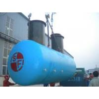 Wholesale Steel reinforced fiberglass twin layers oil tank from china suppliers