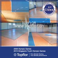Wholesale Portable plastic indoor basketball court sports flooring from china suppliers