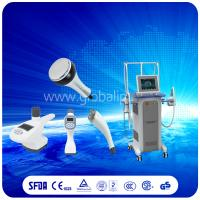 Wholesale Safely  Vacuum Slimming Machine combine Vacuum suction RF + Infrared Light + Roller from china suppliers