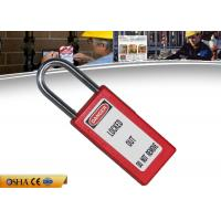 Wholesale ZC-G81 Safety Lockout Padlocks Long Body Steel Shackle Light Weight from china suppliers