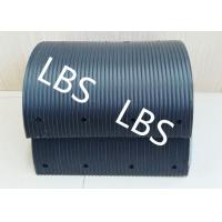 Quality High Polymer Nylon Lebus Grooved Sleeves Light Weight Black color for sale