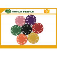 Wholesale Professional Heart Casino ABS Poker Chips For Playing Game Set from china suppliers