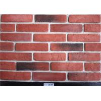 Wholesale Red Classical Faux Exterior Brick Solid Surface Acid Resistance For Construction from china suppliers