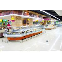 Wholesale Energy Efficient Countertop Refrigerated Display Case Merchandizer For Sausage And Dairy from china suppliers