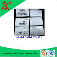 Wholesale Customized Garment Brand Printable Rfid Labels For Supermarket from china suppliers