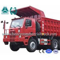Wholesale Electric Control 70 Ton Mining Dump Truck HOWO Sinotruk Low Fuel Consumption from china suppliers