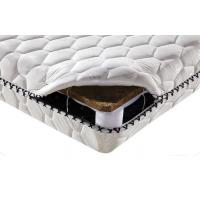 Quality White Knitted Fabric Twin Size Bed Mattress Coir Fibre With Spring Environmental for sale