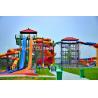 Buy cheap Shandong 100,000 M2 Water Park Fiberglass Water Slide  Water Park Equipment from wholesalers