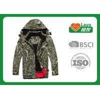 Wholesale Customized Softshell Multi Function Jacket For Hiking / Fishing from china suppliers