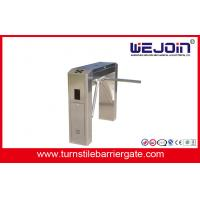 Quality Waist height Turnstile pedestrian access control for Living Community for sale