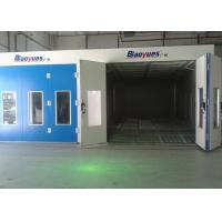 Wholesale Full Grilles Inner Ramp Paint Spray Booth Oven , Down Draft Paint Booth Equipment from china suppliers