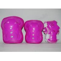 Wholesale Kids Roller Skate Skating Protective Gear Safety Wrist Elbow Knee Support with PP Shell from china suppliers
