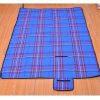 Wholesale Large Waterproof Picnic Ourdoor Blanket Tote with Handle and Soft Padding from china suppliers