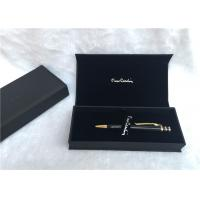 Wholesale Solid Wood Packaging Pen Gift Boxes Promotional With Black Color , SGS Listed from china suppliers