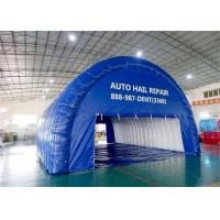 Buy cheap Custom Blue Airtight Inflatable Tunnel Tent for Event from wholesalers