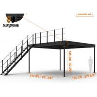 Wholesale Steel Structure 2-Layer Industrial Mezzanine Floors Racking System from china suppliers