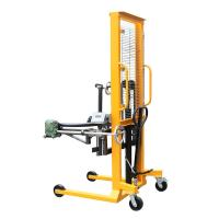 Wholesale Electronic Balance 1.6m Lifting Height Gripper Type Hydraulic Drum Lift(Manual Rotating) with 400Kg Load from china suppliers