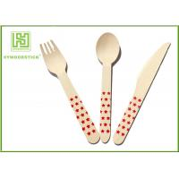 Wholesale Food Grade Premium Birch Disposable Eco Friendly Wooden Cutlery Fork Knife Spoon from china suppliers