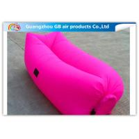 Wholesale Colorful Inflatable Sleeping Bag / Soft Air Sofa Bed With Inflatable Mattress from china suppliers