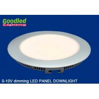 Wholesale Ultra thin 0 - 10V Dimmable LED Panel Downlight 8W with Aluminium Housing from china suppliers
