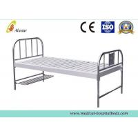 Wholesale Custom Flat Medical Hospital Beds With Foot Board Stainless Steel Hole Punching ALS-FB003 from china suppliers