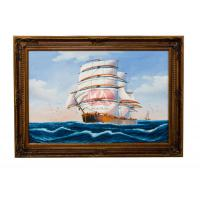 Wholesale Maritime abstract art seascape sailboat oil painting Art for Living Room from china suppliers