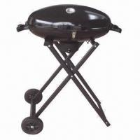 Wholesale 26'' Deluxe Kettle Charcoal/Trolley BBQ Grill for Sale, Sized 67 x 42 x 91cm from china suppliers