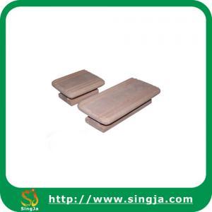 Wholesale Sauna accessories wooden sauna door handle from china suppliers