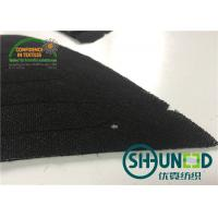 Quality Thinner Mens Black Color Sewing Shoulder Pads For High Level Apparel Industry for sale