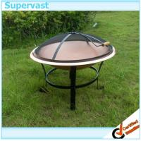Wholesale 30'' Copper Color Steel Fire Pits Patio Furniture Accessories for Outdoor BBQ from china suppliers
