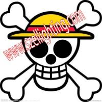 Quality EL Car Sticker Customized Car Sticker in Skeleton (CS03) for sale