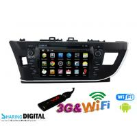 Buy cheap Pure Android for Toyota DVD GPS Car Radio with FM AM RDS DVR rear view camera from wholesalers