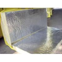 Quality Sound Absorption Rockwool Insulation Board Laminated With Aluminum Foil for sale