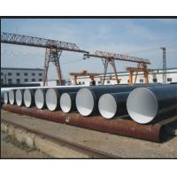 Buy cheap Spiral welded Cold Drawn SSAW Steel Pipe Anti-Corrosion , BS 1387 BS EN10217 JIS G3474 Water / Gas Pipe from wholesalers