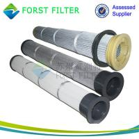 Wholesale FORST Supply Pleated Bag Dust Collector Filters for Cement Dust from china suppliers