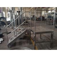Quality Granulating series high speed mixer granulator complete production line for solid closed system for sale