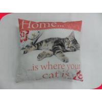 "Wholesale 17"" Polyester Beautiful floor throw pillows Heat Transfer Printing from china suppliers"