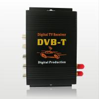 Wholesale CAR DVB-T MPEG-4 Double tuner Digital TV receiver Dual -tuner TV Box with multi language from china suppliers