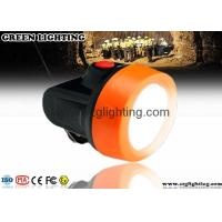 Wholesale Orange 6000lux LED Mining Light Strong Brightness LED Mining Headlamp 2.8Ah Battery from china suppliers