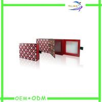 Wholesale Fashion Matt Lamination Cardboard  Magnetic Gift Boxes With Window from china suppliers