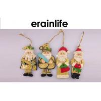 Wholesale Xmas Decorations Ideas / Polyresin Santa Claus Hanging Christmas Decorations from china suppliers
