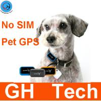 Wholesale Dog / cat pet trace gps recorder tracker GPAWS Pet Tracker receiver Historial playback No SIM GPS recorder from china suppliers