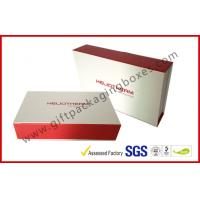 Wholesale Duplex Board Rigid Magnetic Cosmatic Packaging Boxes With Book Shape from china suppliers