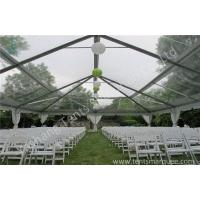 Wholesale Glassland Romantic Transparent Clear Top Tent Wedding , clear party tent from china suppliers