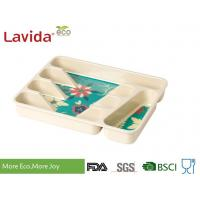 China Professional Restaurant Use Bamboo Lunch Trays Non - Toxic Environmental Friendly on sale