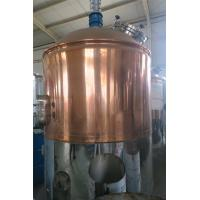 Wholesale 2000L micro beer brewing equipment with red copper brewhouse from china suppliers