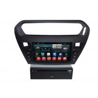 Wholesale Quad core PEUGEOT Navigation System With 8.0 Inch Touch Screen / Auto Rear Viewing from china suppliers