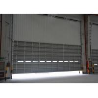 Wholesale Excellent performance overhead section doors with aluminum material door panel from china suppliers