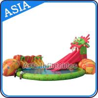 Wholesale Inflatable Commercial Water Park , Giant Inflatable Water Park Games from china suppliers